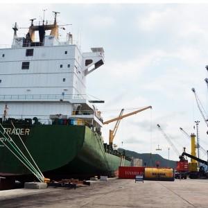 Arriban más de mil toneladas de mercancía Puerto Cabello