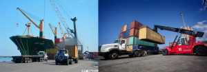 Arriba al Puerto de Puerto Cabello buque con alimentos de primera necesidad