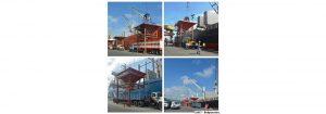 Trigo panadero, maíz blanco, harina de soya y cebada son descargados en el Puerto de Puerto Cabello