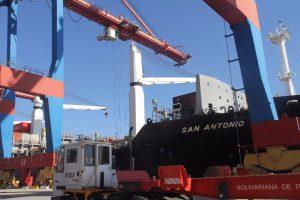 Al Puerto de La Guaira arribaron 4 mil toneladas de productos