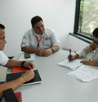 Corpovex firma alianza comercial  para creación de ruta a islas del Caribe