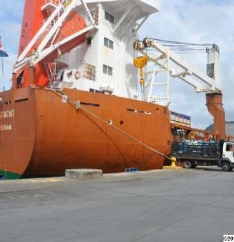 Dos mil 500 TM de cebada malteada son descargadas en Bolipuertos Puerto Cabello