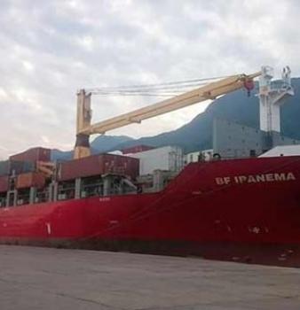 Leche, carne y varios artículos fueron desembarcados en el Puerto de Puerto Cabello