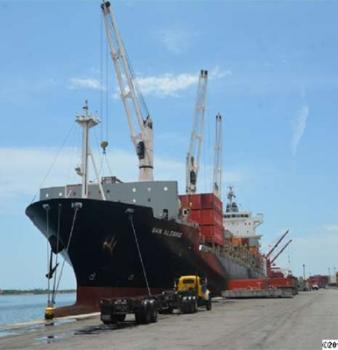 Al Puerto de La Guaira llegaron 272 contenedores con alimentos, medicinas y productos de higiene